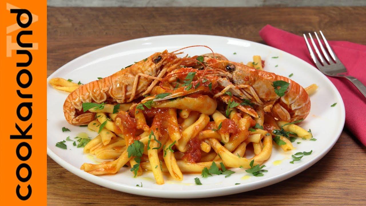 Maccheroni al ferretto con sugo di scampi ricette primi for Cucina italiana pesce