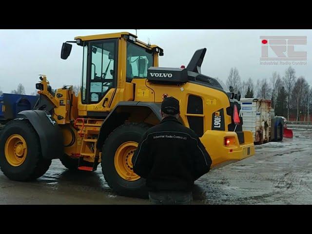 Radiostyrd Volvo hjullastare L90H