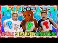 RUDOLF'S EDIBLE 3 MARKER CHALLENGE   We Are The Davises