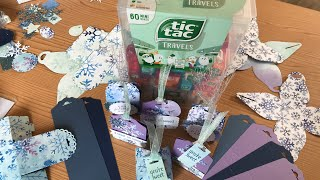 Mini Tic Tac Treat Kit - Contents, Assembly Tips, and Tag Treat Tutorial