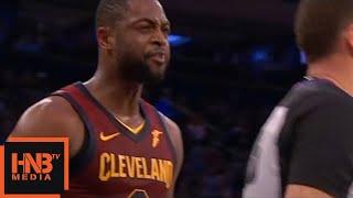 Dwyane Wade Technical Foul / Cavaliers vs Knicks