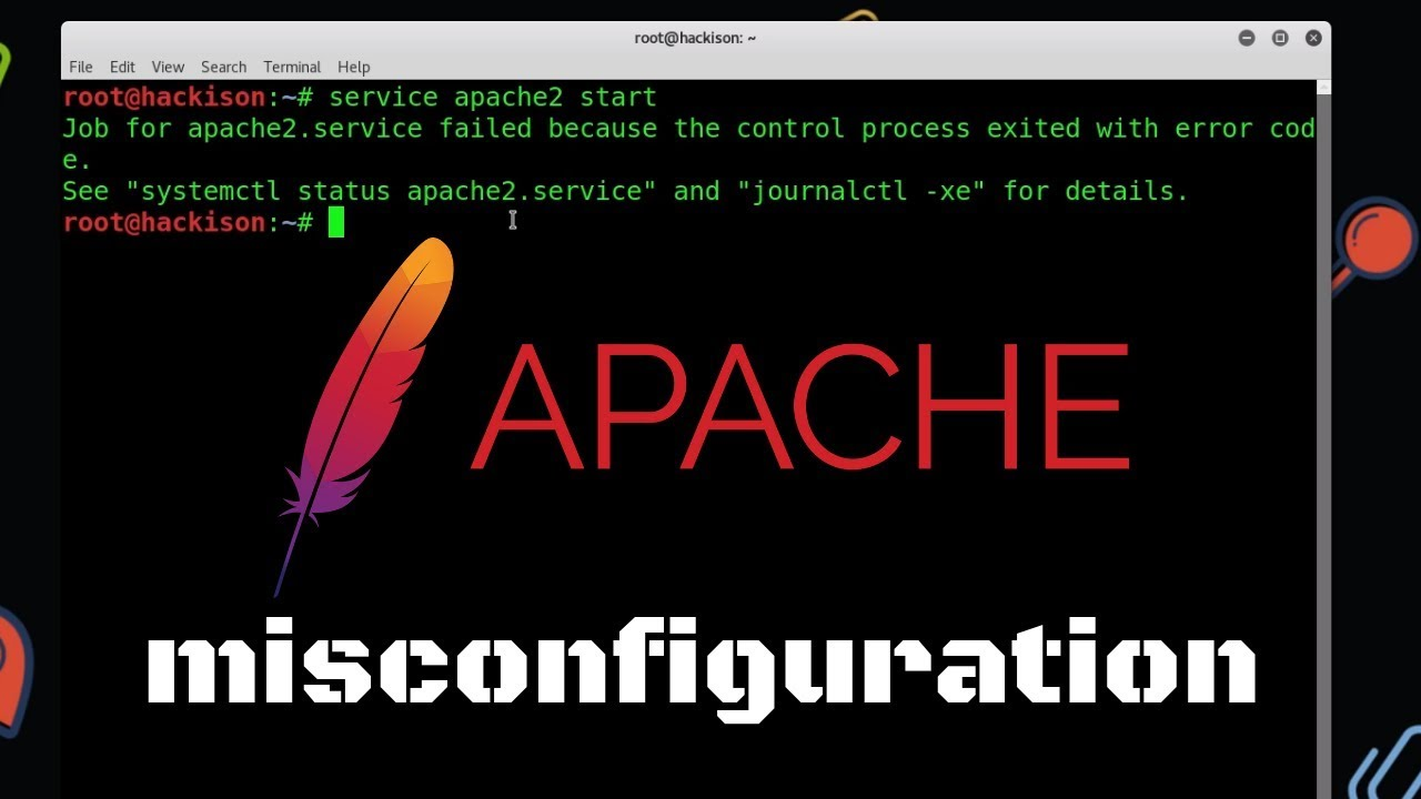 maxresdefault Job For Apache Service Failed Because The Control Process Exited With Error Code on