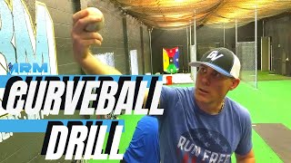 Pitching Tips - Basęball Pitching Curveball Drill - How to teach & throw a curve ball