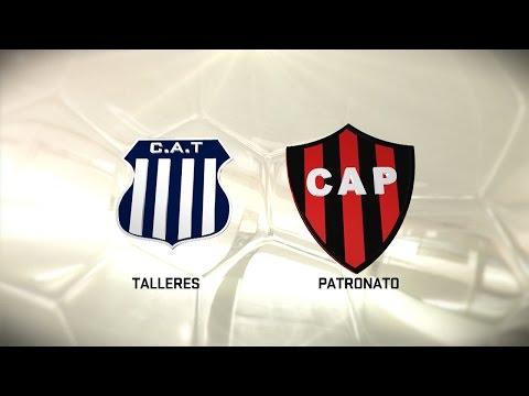 Fútbol en vivo. Talleres vs. Patronato. Fecha 9. Torneo de Primera División 2016/2017. FPT