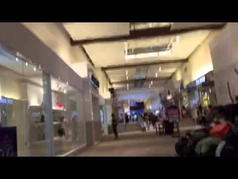 Walking At Grapevine Mills Mall, Grapevine, TX (9/4/15)