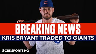 Kris Bryant Traded to the San Francisco Giants