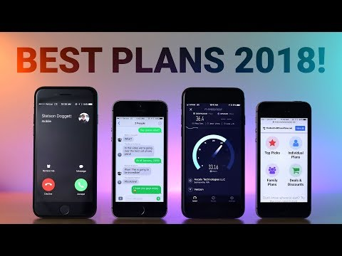 Best Cell Phone Plans 2018!