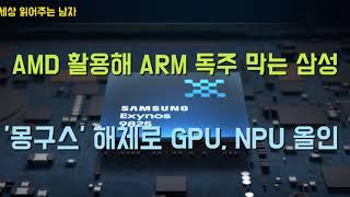 삼성전자의 몽구스 해체는 GPU시장에서 AMD와 협업, 무주공산인 NPU시장의 주도권잡기와 오버랩됩니다. 삼성의 전략적 선택의 결과가 궁금합니다.