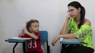 TROLLAGEM NA AULA DA PROFESSORA MALUCA - DANY E CADU
