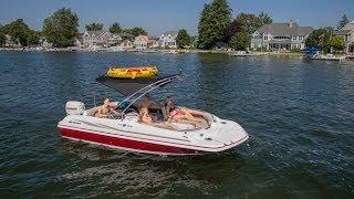 Hurricane Deck Boats | Sundeck Sport Ss 201