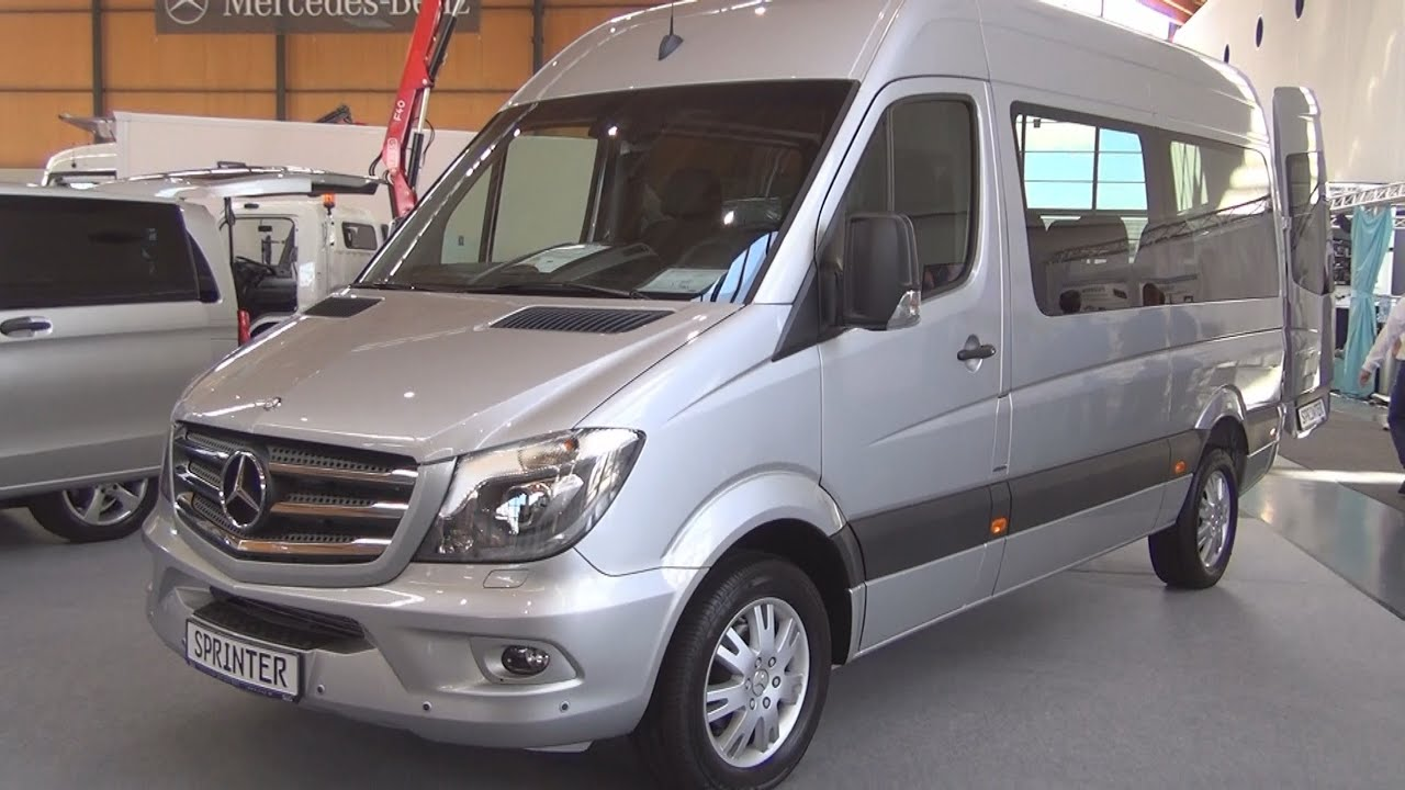 mercedes-benz sprinter 319 cdi combi (2016) exterior and interior
