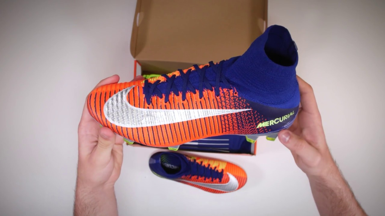 4b6c73e8f Nike 'Time to Shine' Mercurial Superfly Unboxing - YouTube