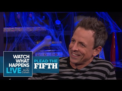 Seth Meyers Pleads The Fifth, Again! | Plead The Fifth | WWHL