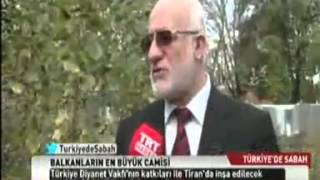 Balkanların  En Büyük Cami'sini Diyanet Vakfı İnşa Edecek. 2017 Video