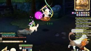 MMORPG「Legend of Edda」ネコと一緒にゲームプレイ