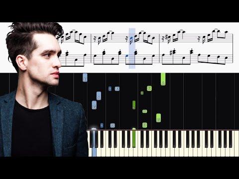 Panic! At The Disco - Sarah Smiles - Piano Tutorial + SHEETS