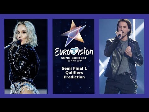 Eurovision 2019 - Semi Final 1: Qualifiers Prediction