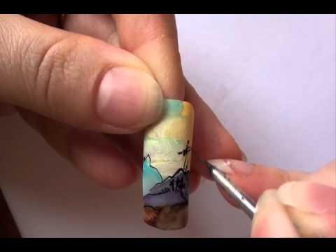 Cute Nail Art: Orient