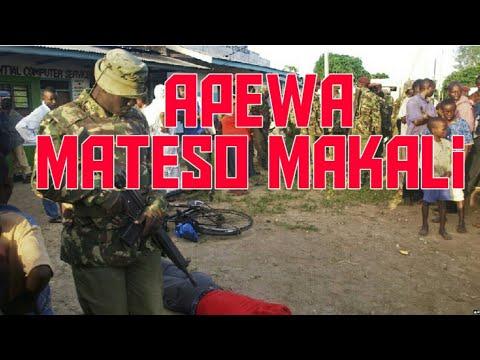Download JAMAA APEWA MATESO MAKALI BAADA YA KUVAMIA KAMBI YA JESHI