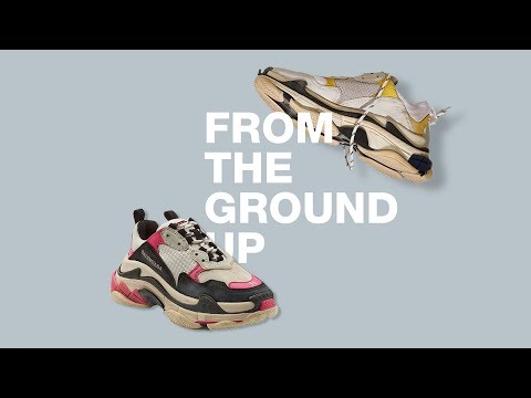 From the Ground Up - High Fashion Sneakers