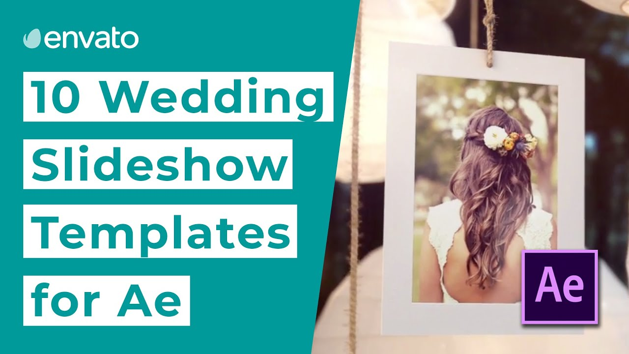 Top 10 Wedding After Effects Slideshow Templates - Envato