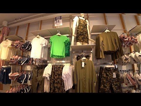 Женская одежда. Есть большие размеры. Бюджетный шоппинг в Стамбуле. Цены в Турции. Meryem Isabella