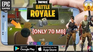 [Only 70 MB] Fortnite Battle Royale (Beta) For All Android Devices || Download Now