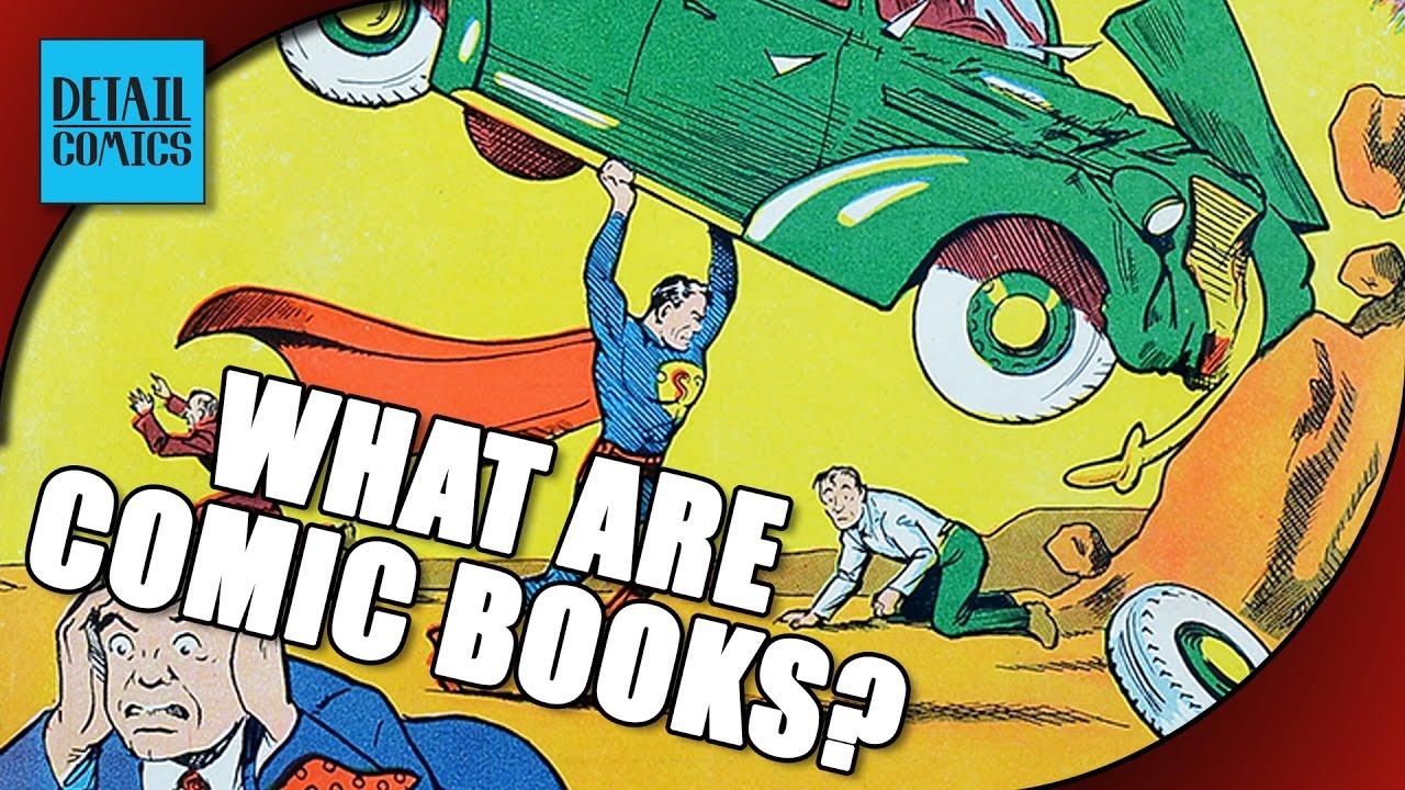 Intro To Comics: What Are Comic Books? || Comics Classroom - YouTube
