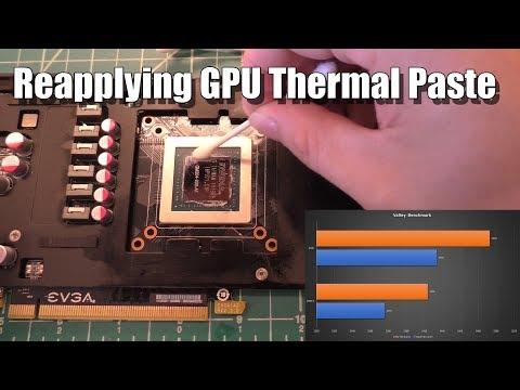 Replacing GPU Thermal Paste: My Experience