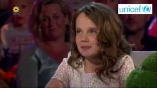 Amira Willighagen - Interview for Unicef - 16 July 2014
