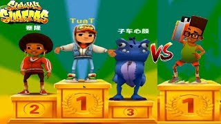 Subway Surfers Gameplay HD Mobile vs Subway Surfers PC HD - Android Ios Windown