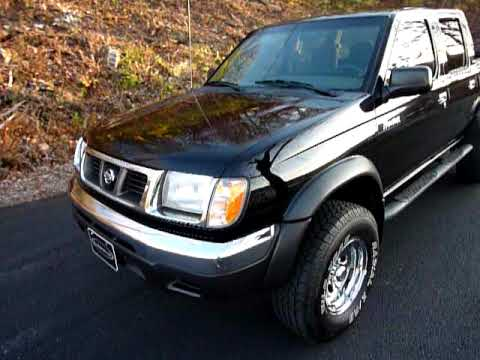 Nissan Frontier Crew Cab >> 2000 Nissan Frontier 4WD 00 SE Crew Cab V6 Auto 130K $8,450 - YouTube