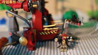 고스트 닌자고 로닌REX 전투기 스톱모션 70735 LEGO NINJAGO  RONIN R.E.X Stop Motion! Toys  おもちゃ игрушка 라임튜브