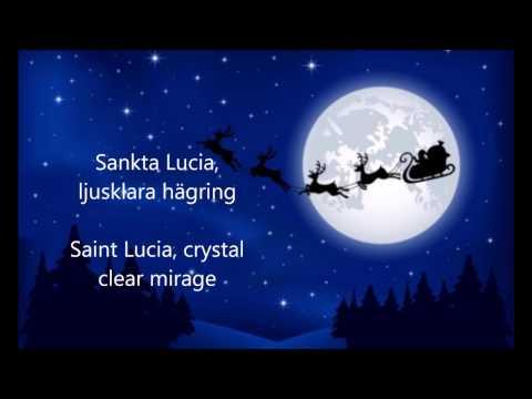 Sankta Lucia ljusklara hägring - ENGLISH TRANSLATION