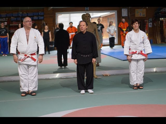Olympic Champion Ilse Heylen invited by GM Walter Toch workshop Kung Fu  Judo