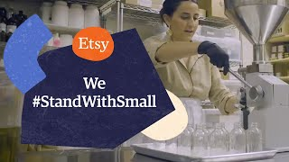 We #StandWithSmall | Support Small Businesses on Etsy