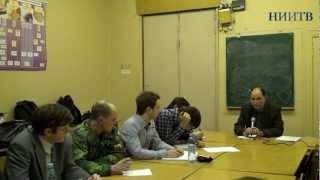 Школа тележурналистики НИИТВ - Урок 1