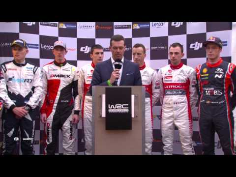 WRC - Rallye Monte-Carlo 2017: MEET THE CREWS Friday