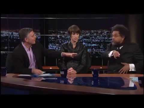 Bill Maher VS. Cornel West on Obama Being a War Criminal - Real Time July 12, 2013