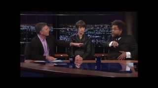 Bill Maher VS. Cornel West on Obama Being a War Criminal - Real Time July 12, 2013