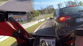 Best of Nino Pallavinci 2016 - Craziest Motorbiker at the Nürburgring Nordschleife?! - Yamaha R1