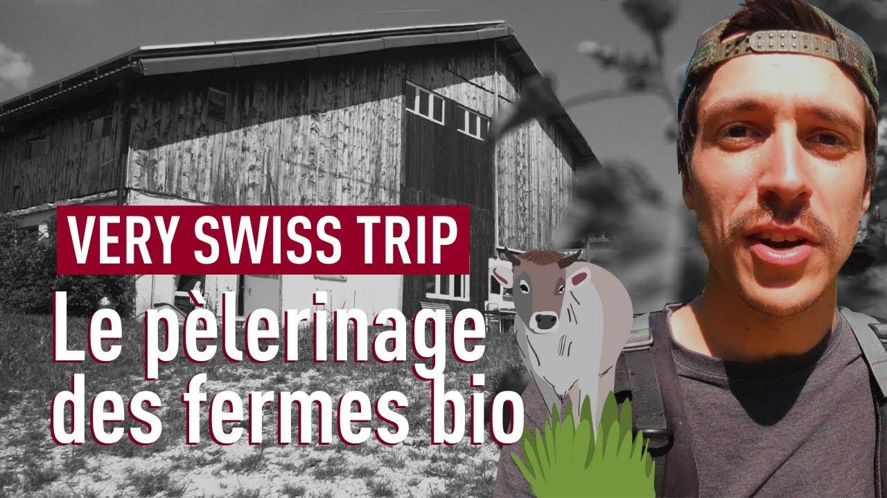Les chemins du bio: à la découverte des fermes bio du Jura, 4e épisode de «Very Swiss Trip»