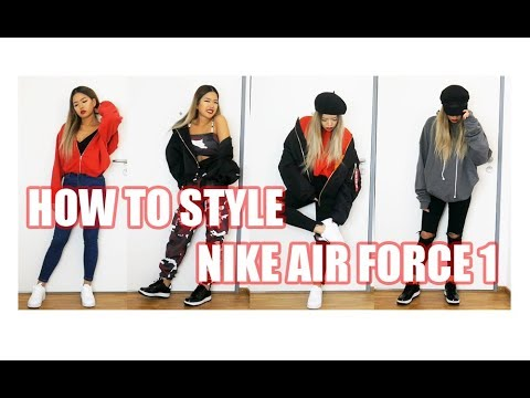 How To Style Nike Air Force 1 Lookbook Arrestthisgal Ad