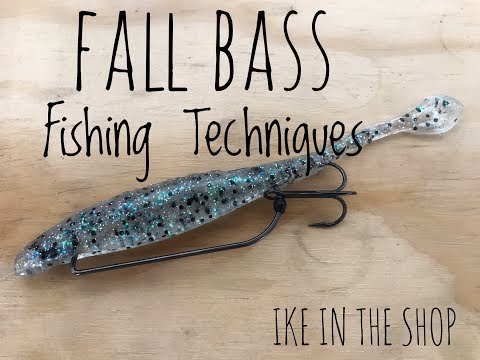 Ike In The Shop: Fishing In The Fall With Flukes