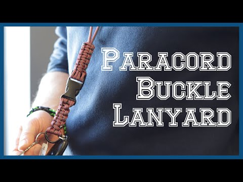 Paracord Buckle Lanyard