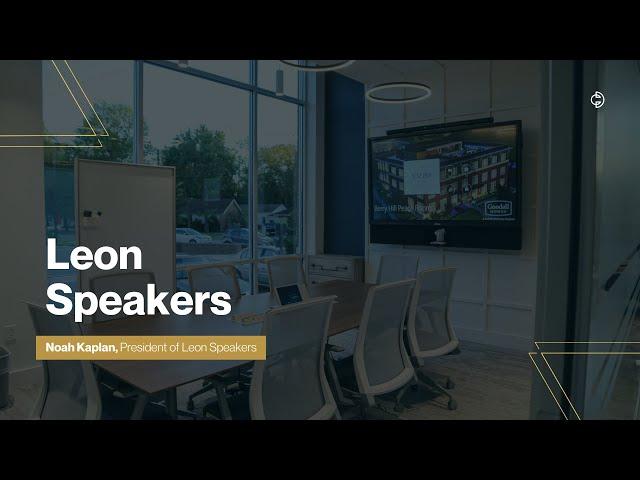 Connected Design Insider Talk: Leon Speakers