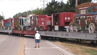 Circus Train - going through Richfield, Wisconsin