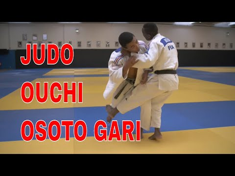 JUDO OUCHI OSOTO GARI Olympic Techniques