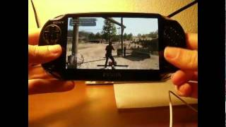 Red Dead Redemption en PS Vita using remote play (only CFW on PS3)