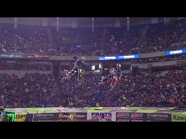 Supercross Battle of Legends - Ryan Dungey VS Ryan Villopoto - Minneapolis, MN - 2013
